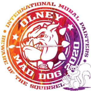 Olney Mad Dog Mural Event